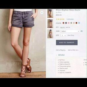 EUC Pilcro Shorts